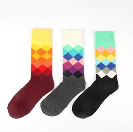 New Britpop Style Candy Color Elastic Elite Socks Men Cotton Elite Althletic Socks High Quality Long Compression Socks For Men