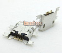android tablet parts - U031 Repair Parts Micro USB Data charger port Adapter For Android Tablet Phone LN003749