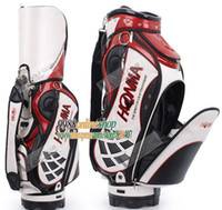 Wholesale New Honma golf bag top quality PU golf staff bag with colors Golf clubs bag with bag headcover golf equipment