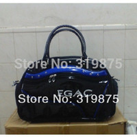 Gros-Hot - Black Navy Blue Golf plus Vêtements Sac Top en cuir PU Golf Boston Bag Men