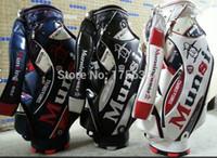 Wholesale Brand New High Quality Golf Bag PU Golf Standard Ball Package Model