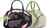 brand golf equipment - po golf clothing bag women clothe bags shoe golf light bag free ems brand clothes bags cart golf sport equipment