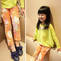 baby pink skinny jeans - Pattern Printed Baby Girls Pants Small Feet Trousers Toddler Jeans Pencil Pants Skinny