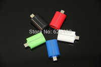 Cheap Wholesale-200pcs lot Micro USB 2.0 OTG Smart Connection Kit Adapter For Samsung Galaxy mobile phone pad cardreader FEDEX DHL FREE SHIPPING