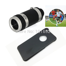 """Wholesale-8X Telescope Lens for iphone 6 Mobile Phone Lens Telephoto Camera Lens with Case for iPhone 6S 4.7"""" CL-83-2"""