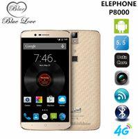 Wholesale Presale Original Elephone P8000 inch FHD G LTE mobile phone MTK6753 bit Octa Core GB RAM MP Android Fingerprint ID