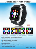 android mobile cost - New low cost androidm smart watch mobile phone bluetooth watch wrist watch mobile phone hot selling now