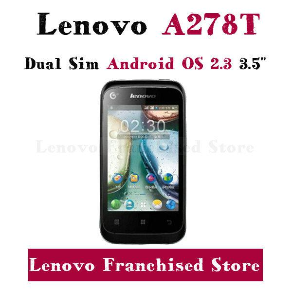 Gros-originale téléphone à bas prix Lenovo A278T Smart Phone single core 265MB R