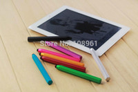 apple ipad size - Large size Hexagonal Aluminum alloy colour pencil capacitance pen for mini iPad iPad iPad Air iphone s TOUCH4