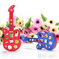 baby rhymes - Electronic Guitar Toy Nursery Rhyme Music Children Baby Kids Toy Gift WMN
