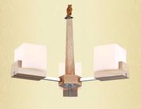 bamboo lighting fixtures - heads wooden pendant Chandelier Lighting Lamp Fixture for Living room Bedroom