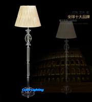 artistic vases - Modern Artistic Full Lead Crystal Flower Vase Floor Standing Lamp Lights Lighting Fixtures Model FL N018