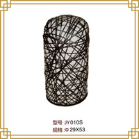 bamboo projects - Southeast lamps modern minimalist living room bedroom den Nest bamboo floor lamp lights neoclassical hotel project