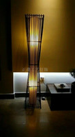 bamboo songs - Fishing Song Chinese bamboo bedside wall lamp lighting aisle stairs neoclassical clubhouse restaurant work lights