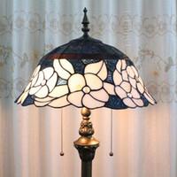 bedroom floor ideas - European pastoral Tiffany stained glass lamps living room floor bedroom lighting ideas wedding gifts