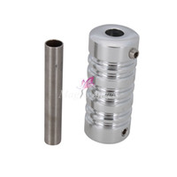 alloy aluminium grip - High Quality Aluminium Alloy Tattoo Grip with Back stem Fully Autoclavable Professional Srips Tattoo Supplies SilverH01074