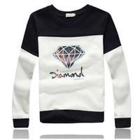 diamond supply co - Diamond Sweatshirt Spring Lover Matching Couple Diamond Supply Co Hoodie Plus XL Sudaderas Diamond Crewneck Sweatshirt