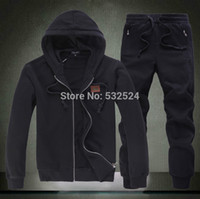design new tracksuits - Grey USA Design Track Suits Sports Casual Hoodies Men s Sportswear tracksuits new design Brand Suits clothing