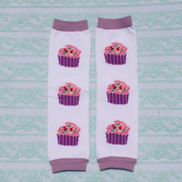 baby sock cake - Retail baby leg warmers children cotton cute cakes leg warmer socks adult arm warmers pairs Melee
