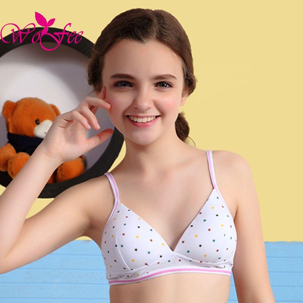 Wholesale Young Girl Bra Wireless Healthy Bra Shaping Underwear ...