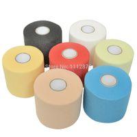 athletic prewrap - cm x m PU Sports Pre Wrap Foam Bandage Underwrap Prewrap for Athletic Tape Sports Tape Bandage Assorted Color