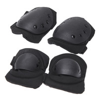 Wholesale Outdoor Adults Sports Military Tactical Knee Elbow Protective Supports Pads Skating Skiing Climbing Kneepad