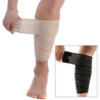 Wholesale Color Random cm Long Protective Compression Elastic Stretch Wrist Knee Elbow Shin Band Brace Support