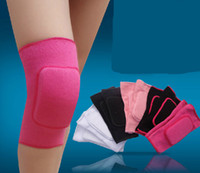 Cheap Wholesale-High quality fashion sponge sports safety children child riding dance leg knee protective pads kneepads guard support protector