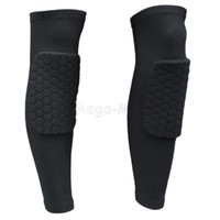 basketball equipment - Basketball Leg Sleeve Sport Compression Stretch Brace Thigh Protect knee Protector Kneelet Brace Joelheira Equipment ZYQ