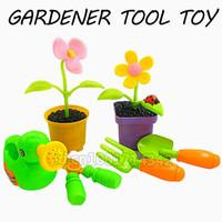 baby sprinkle - DIY baby Plastic Gardener Flower Watering Planter Farm Plants Tool Shovel Sprinkling Can Classic Toys amp Hobbies Pretend Play