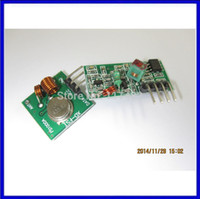 ask super - RF wireless receiver module amp transmitter module board super regeneration MHZ DC5V ASK OOK pair