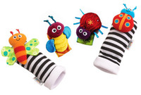 baby registers - Register baby rattle baby toys Wrist Rattle and Foot Socks styles wrist rattles foot socks