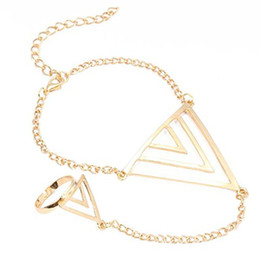 Promotion ! Bracelet Bangle Slave Multilayer Triangle Gorgeous Gift