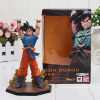 Wholesale cm Dragon Ball Z Son Goku Battle Genki Dama PVC Action Figure Model Toys Dragon Ball figure