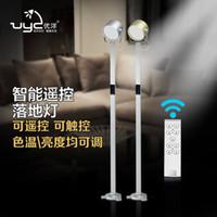 spotlight floor lamp - touch on off remote control modern ikea art deco floor lamp led aluminum searching light studio spotlight floor lamp
