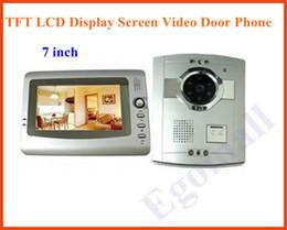 Wholesale-Wholesale 7 inch TFT LCD Display Screen Video Door Phone H843