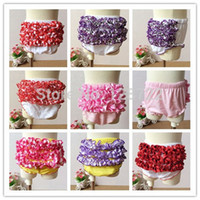 baby nappy designs - Baby Cotton Bloomers Cute Baby Pants Tutu Design Infant Ruffle Short Baby Girls Pettiskirt Briefs Nappy Covers PP Pant