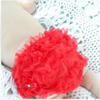 baby love yarn - High quality Bloomers Fashion summer new cute baby love leisure pp lace pant lovly kids garment childs red yarn shorts