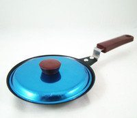 Cheap Wholesale-MINI Heart shape Egg Frying Pan NON-STICK +Cover for Kitchen, Dining & Bar