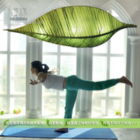 stretch ceiling - Ocean leafy stretch silk cloth Southeast Ceiling lamps SPA Beauty yoga casual multi lamp combinations