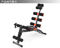 Wholesale Liuhe a multi functional AD belly in machine lazy waist sit ups authentic home fitness equipment