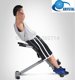 Wholesale Crystal factory multifunction Roman chair sit ups bench waist and abdomen exercise machine