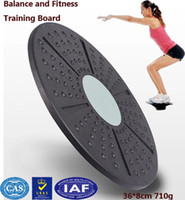 balance health fitness - Twist board Balance board trainer to slimming health waist twisting disc twister game mat wriggling round plate cm