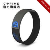 Wholesale Cprime bur for n hologram bracelet balancing strap general sports wristband dark grey