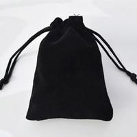 jewelry shoe holder - Large Black Velvet Bags cmx30cm quot x8 quot good quality can print logo Bottle Holder Fashion Shoe Bra Hat Jewelry Gift