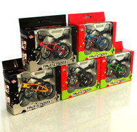 bicycle items - Professional Random Color Finger bmx Diecast Nickel Alloy Stents finger bicycle Adult Novelty Items Children Toys