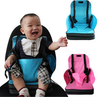 baby chair - cadeira de bebe kids chair for feeding baby high chair Dining with safety harness unfolding baby seat cushion chair mat Portable