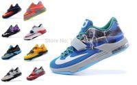 Wholesale 2015 Hot Sale Colors KD7 Men Women Youth Basketball Shoes Durant Men s Women s Kids Sneakers Athletic Sport Shoes