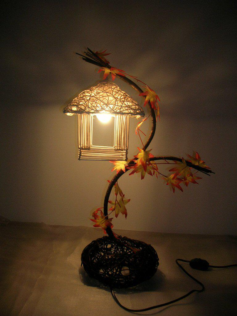 Wholesale free shoppingpure hand woven rattan table lamp so that wholesale free shoppingpure hand woven rattan table lamp so that your home return to naturesmall house book lights table lamp lighting book light book geotapseo Image collections