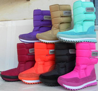 Wholesale Boots platform shoes waterproof snow boots sakura medium leg snow boots female boots